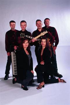 Die Band mit Sängerinnen