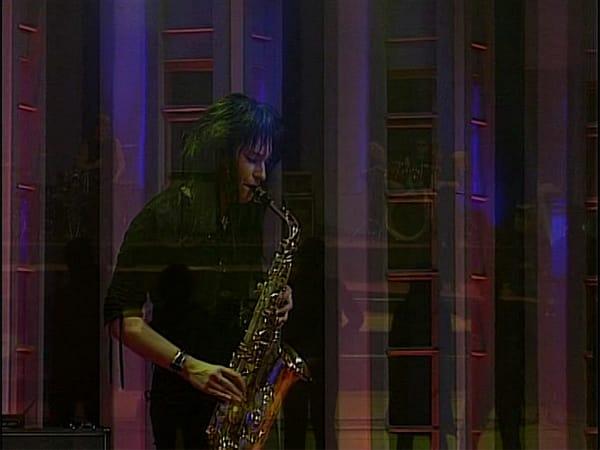 Marie am Saxophon