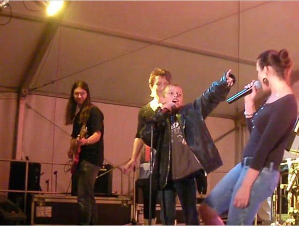 Nachwuchs auf der Bühne
