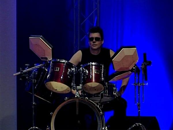Ulf Coolman an den Drums