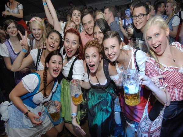 Oktoberfest in München - aber in Südbrandenburg